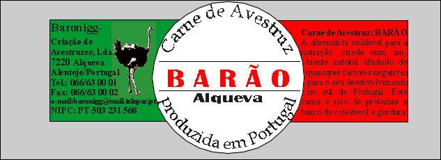 Carne de Avestruz de Portugal. Baixo teor em colesterol e calorias